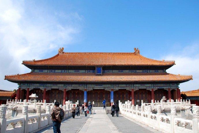 北京故宫五一前开放皇极殿 品级仅次太和殿