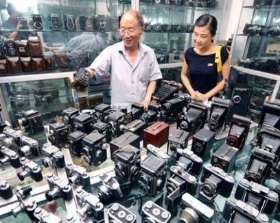 杭州高氏相机收藏馆:中国唯一民间相机收藏馆