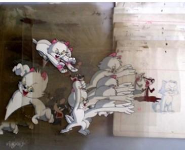 5年前便宜货今拍高价  连环画《猫捉老鼠》原稿拍6万