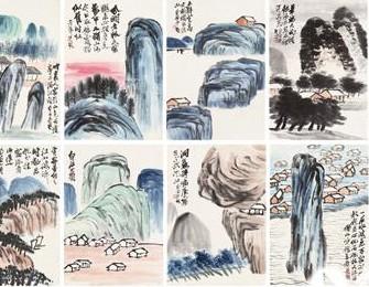 嘉德香港首拍齐白石《山水图册》4000万港元落槌