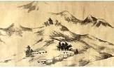 八大山人山水画保证金五百万 朝鲜油画水准惊人