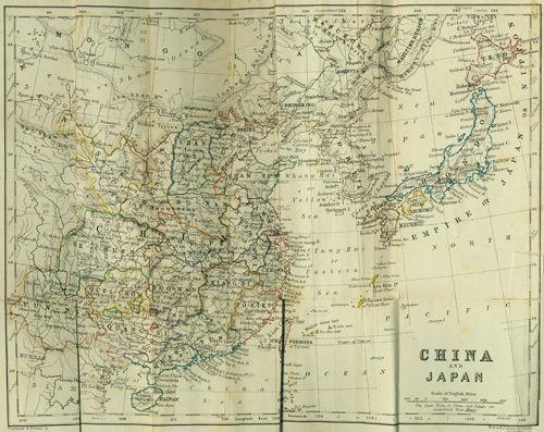 大清国地理全图