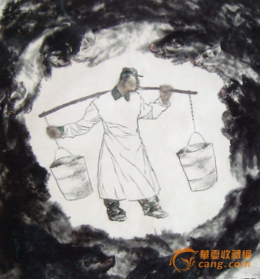 具升值潜质百位国画家 袁鹏飞 作品欣赏图片