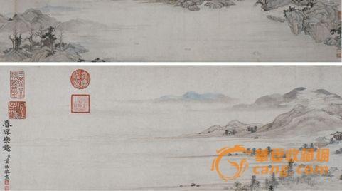 北京/(二):明沈周《村居野寺图卷》