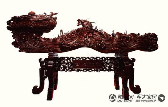 红木雕刻工艺及其生存状况