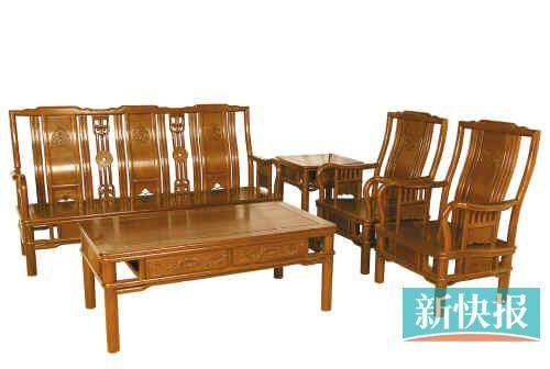 红木家具: 酸枝木崛起 花梨家族流行