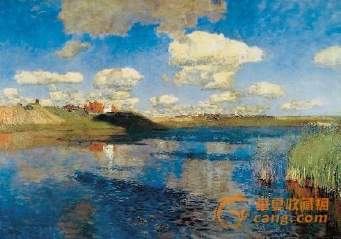 这样,这些以描绘森林,松树,橡树,白桦树为主,创造了俄罗斯风格的风景