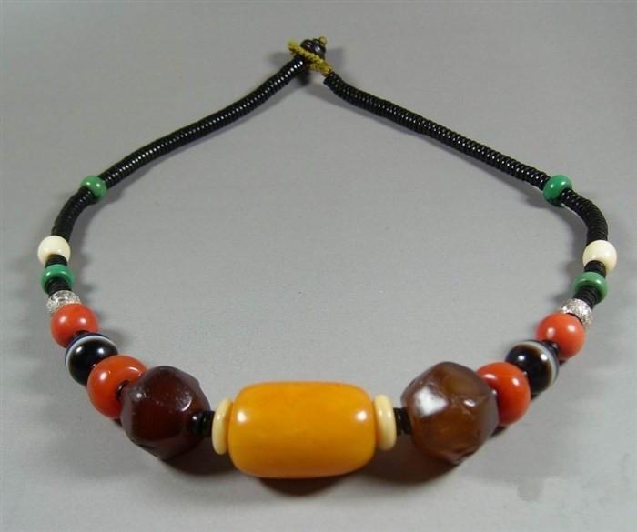 炫丽名族风--藏式多宝项链