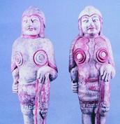太原墓群考古出土135件陶俑色泽艳丽