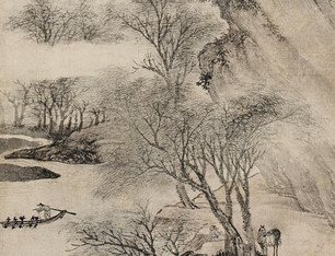 2010北京长风春拍--《钱塘行旅图》 立轴 纸本
