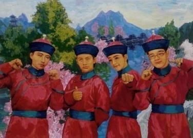 韩寒郭敬明入选新四大才子图