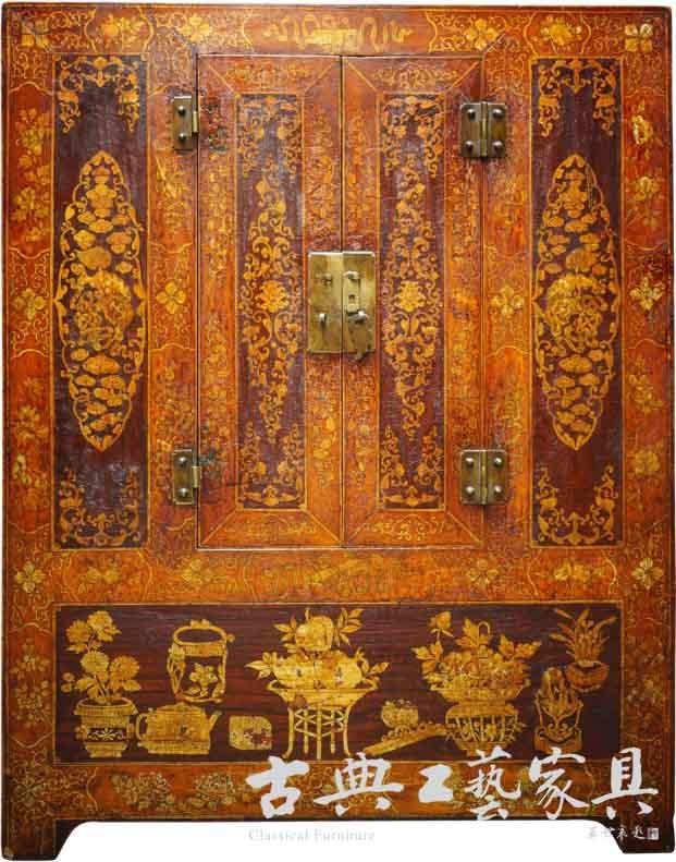 中国古代髹漆家具简介 兼起居文化的形成(七)