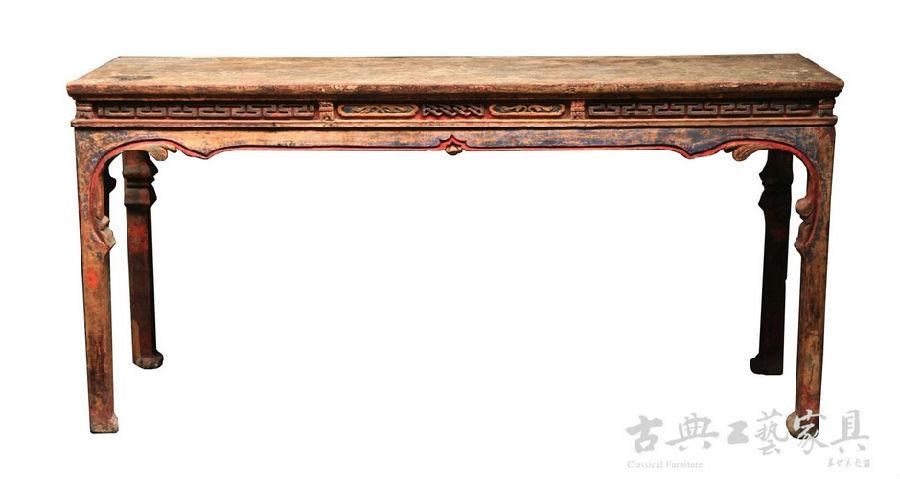 中国古代髹漆家具简介 兼起居文化的形成(八)