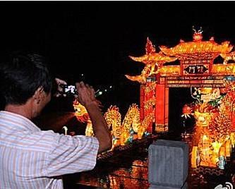 中秋国庆假期鄞州有大型艺术灯会