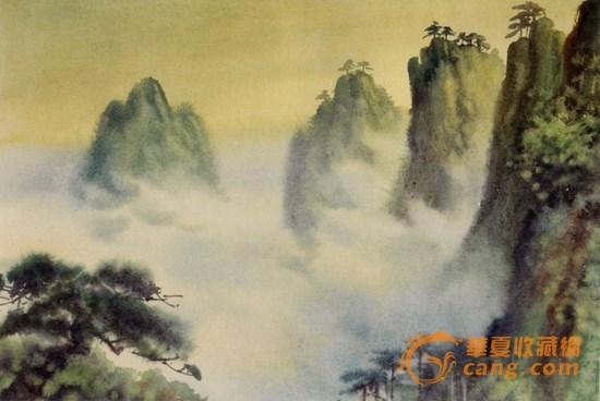 水粉画云的画法-水彩画研究可结合中国传统画论