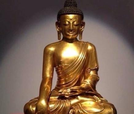 探寻永宣佛教艺术 鎏金铜佛藏市放异彩