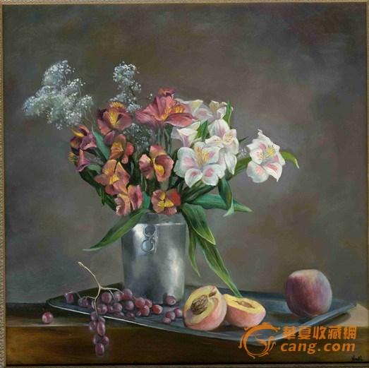 杰出青年女画家米巧铭油画作品欣赏---静物风景系列
