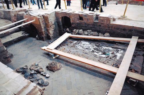 扬州确认发现隋炀帝墓