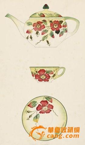 荷兰马斯特里赫特瓷器画稿