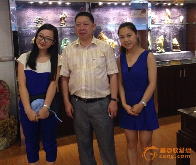 浙江国石城工作人员赴青田感受国石文化