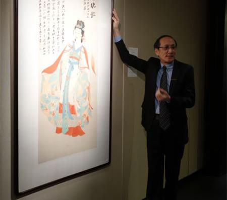 香港苏富比书画秋拍重推张大千的《惊才绝艳》
