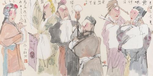 潘裕钰作品展暨画册签名首发即将亮相苏州古玩城画廊