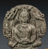 上海博物馆看佛像:佛陀鹿野苑初次说法是怎样的场景?