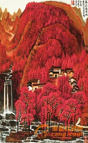李可染山水大展 两幅《万山红遍》首次同台展出