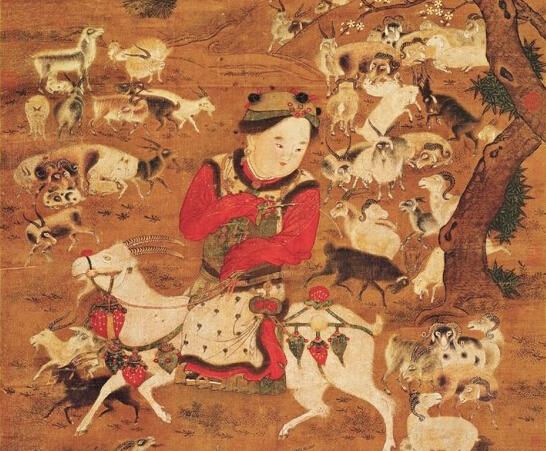 宋画中的羊