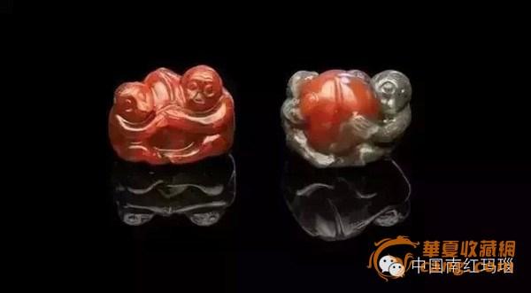 历史上保存至今的南红玛瑙雕刻作品