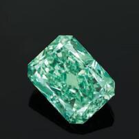 全球最大天然绿色钻石估价1.3亿将亮相香港佳士得