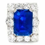 芝加哥冬季拍卖即将开始 5.05ct克什米尔蓝宝石引关注
