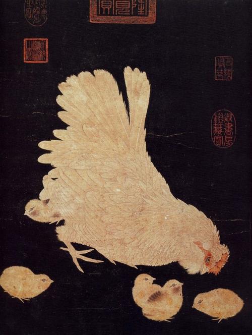 我国古代文化艺术中鸡的形象是怎样的?