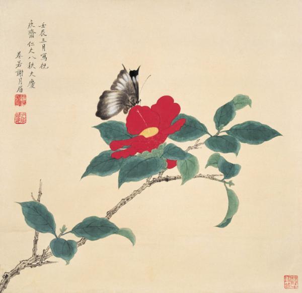 """她是谢稚柳的姐姐 她""""雅静""""的画笔记录了春分时节的江南"""