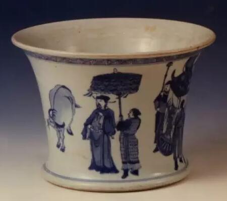 """中国瓷画中的""""丙吉问牛""""图是啥意思"""