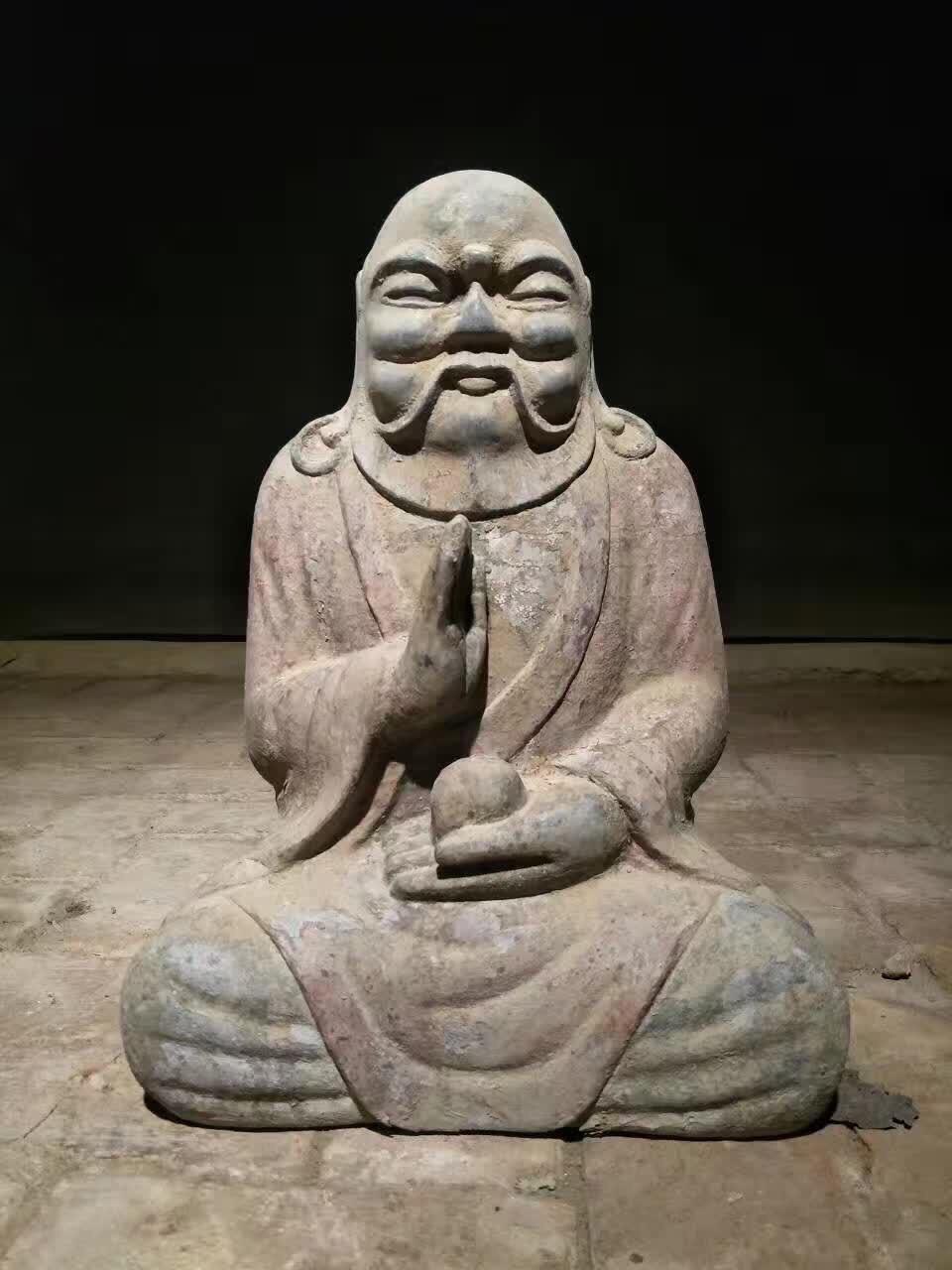 私人博物馆 古石雕