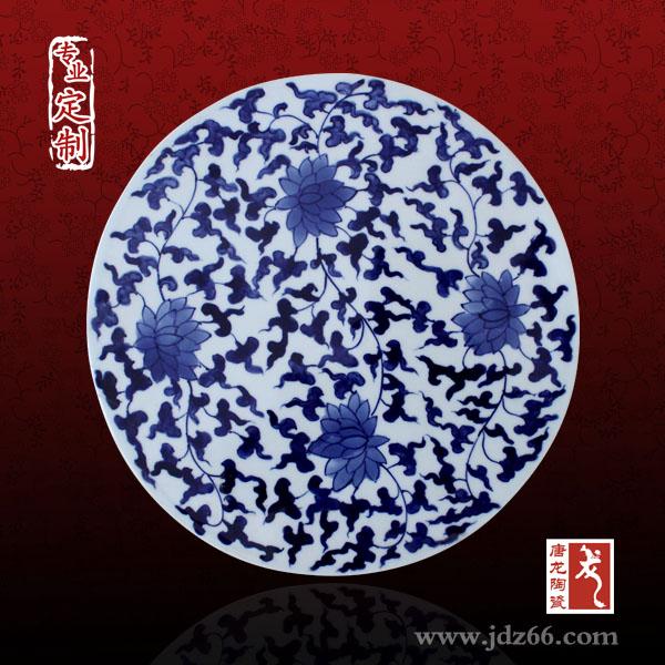 手绘青花瓷粉彩瓷陶瓷摆盘,陶瓷人物肖像瓷盘,瓷板画瓷片订制.