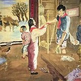 杨之光 宣纸水彩51乘77cm 1954年