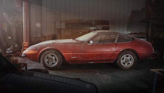 尘封了40多年的豪车居然被拍卖了上千万