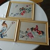 漂亮的刺绣画3幅
