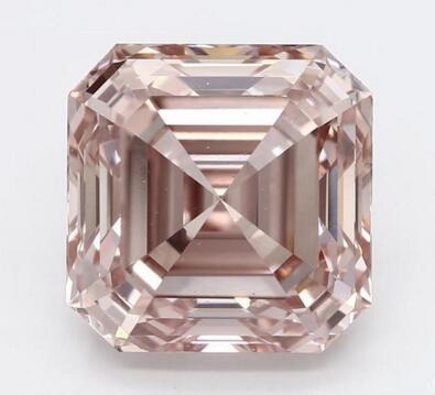 Altr合成一颗3.99克拉Fancy Orange Pink粉钻