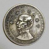 中华民国三十二年孙像半圆镍币