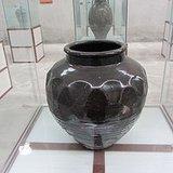 吉州窑黑釉大罐