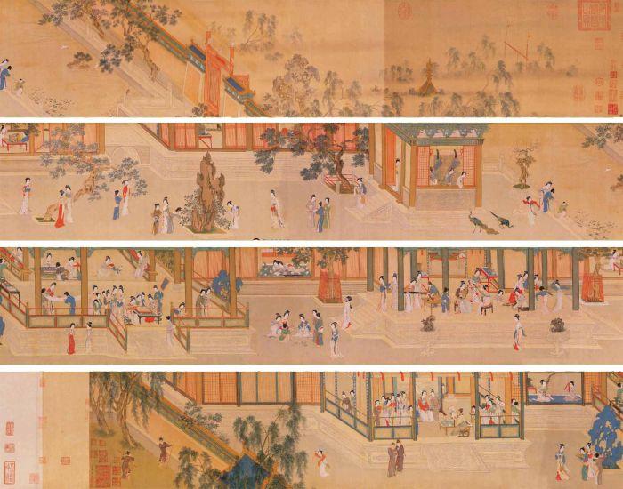 时隔8年 宋代佚名画作《汉宫秋图》在保利拍出1.242亿元