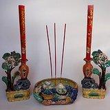 石湾窑香烛器塑