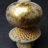 铜鎏金官帽顶珠