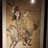 清中期刺绣吕布像