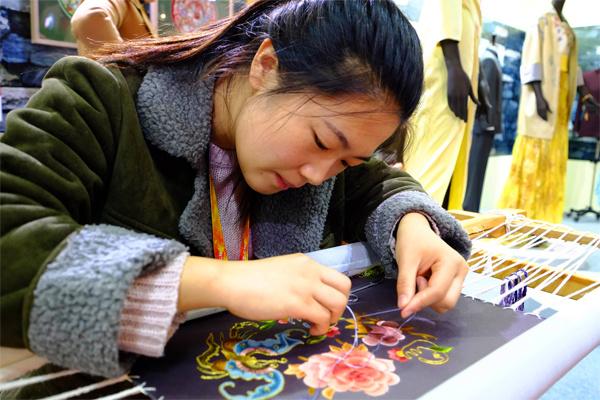 2018年北京文博会刺绣文化展览会
