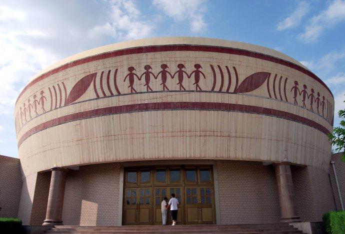 私人博物馆 彩陶之乡