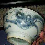 青花龙纹瓷碗